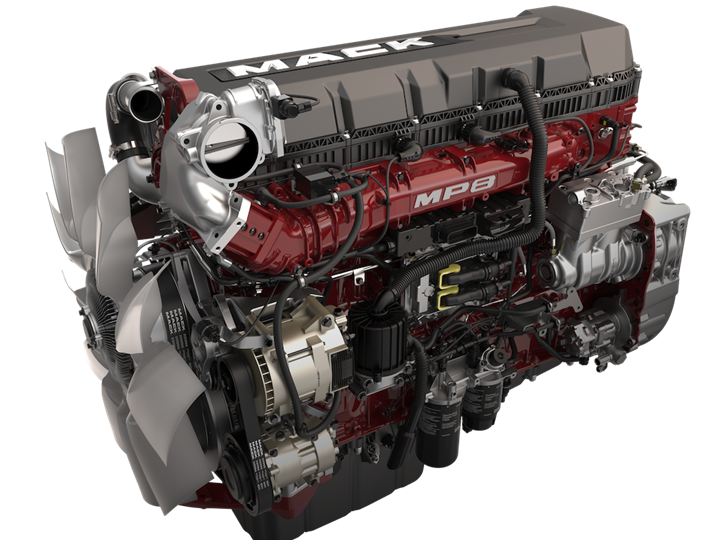 MP8 Semi Truck Engine and genuine Mack Trucks spare parts provide dependability and peak performance