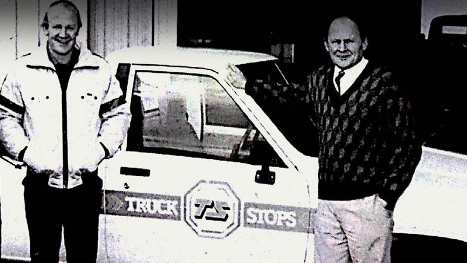 After-sales parts Customer and technician were at Truckstops Invercargill workshop in 1990